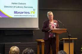 Libraries NI Director of Library Services Helen Osborn