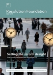 The Resolution Foundation Produces a New Report On Employment